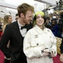 Finneas O´Connell and Billie Eilish O'Connell At The 92nd Annual Academy Awards - Red Carpet - 454 x 356