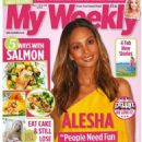Alesha Dixon - My Weekly Magazine Cover [United Kingdom] (22 September 2020)