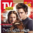Kristen Stewart, Robert Pattinson - TV Mini Magazine Cover [Czech Republic] (19 November 2011)