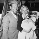 Rosemary Clooney with husband Jose Ferrer and their baby.