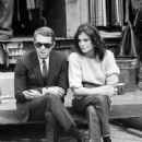 Steve McQueen and Jacqueline Bisset - 454 x 615