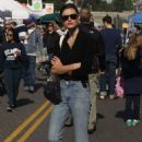 Phoebe Tonkin at the Farmers Market in Studio City