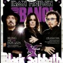 Geezer Butler, Ozzy Osbourne, Tony Iommi - Headbang Magazine Cover [Turkey] (July 2013)