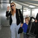 Kate Hudson at Heathrow Airport