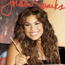 Jordin Sparks - Handprint Ceremony At Planet Hollywood On July 21, 2009 In New York City