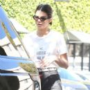 Kendall Jenner heading to lunch at Honor Bar in Beverly Hills