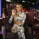Jennifer Lopez – Visits 'Jimmy Kimmel Live!' in Los Angeles - 454 x 681