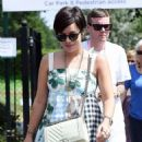 Lily Allen – Wimbledon Tennis Championships 2019 in London - 454 x 604