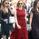 Jessica Chastain – Arrives at 'The View' in New York