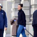 Katie Holmes – Leaving her home in NYC
