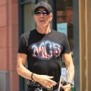 Musician Dee Snider spotted out shopping in Beverly Hills, California on June 27, 2016 - 449 x 600