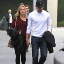 Emily Blunt and husband John Krasinski out for a movie date at the Arclight Cinemas in Hollywood, California on January 4, 2014 - 454 x 594