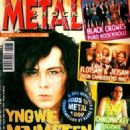 Yngwie Malmsteen - Metal Shock Magazine Cover [Italy] (February 1999)