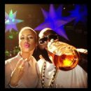 Amber Rose Partying at Club Roxy in Orlando, Florida - February 25, 2012 - 454 x 454