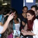 Ariana Grande - Promoting Nickelodeon's ''Victorious'' At Planet Hollywood In Times Square On April 30, 2010 In New York City