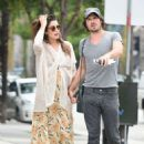 Nikki Reed with Ian Somerhalder out in Los Angeles - 454 x 651