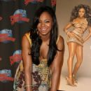 Ashanti Douglas - Attending A Handprint Ceremony At Planet Hollywood Times Square In New York City, 03/05/08
