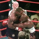Mike Tyson Bites Evander Holyfield Ear June 28 1997 - 454 x 479