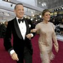 Tom Hanks and Rita Wilson At The 92nd Annual Academy Awards - Arrivals - 454 x 365