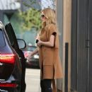 Rosie Huntington Whiteley – Arriving at a salon in Beverly Hills