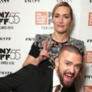 Justin Timberlake Goofs Off with Kate Winslet at 'Wonder Wheel' Premiere
