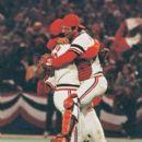 Bruce Sutter & Darrell Porter Celebrate Wininng The 1982 World Series