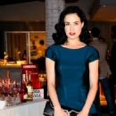 Dita Von Teese: attend a Dannijo And Tucker Tea party in Beverly Hills