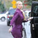 Iggy Azalea – Arriving to a Halloween party in Studio City