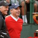 Fred Couples With Greg Norman