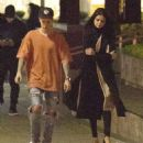 Selena Gomez and Justin Bieber Leaves The Montage Hotel In Beverly Hills