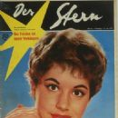 Johanna von Koczian - Der Stern Magazine Cover [West Germany] (27 June 1959)