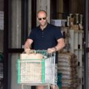 Action star Jason Statham and girlfriend Rosie Huntington-Whiteley are spotted doing some grocery shopping during the July 4th weekend in Malibu. Staham will next appear in