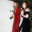 Olivia Wilde in Red Dress – Arrives at Chateau Marmont in Hollywood