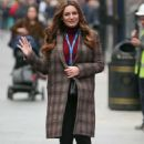 Kelly Brook – Arriving at The Global Radio in London