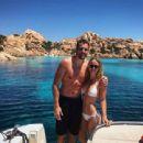 Caroline Wozniacki in Bikini at a pool in in Italy - 454 x 340