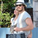 Nikki Reed and Ian Somerhalder out in Venice - 454 x 728