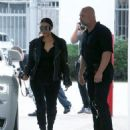 Kim Kardashian spotted out for lunch at Cafe Vega in Sherman Oaks, California on February 8, 2017 - 454 x 581
