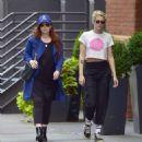 Kristen Stewart with friend out in New York City - 454 x 468