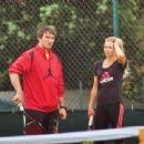 Alexander Ovechkin and Maria Kirilenko - 454 x 340