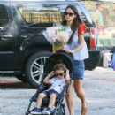 'Furious 7' actress Jordana Brewster went to the farmer's market with her family in Los Angeles, California on August 21, 2016 - 454 x 527