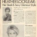Heather Locklear - Celebrity Hairstyles Magazine Pictorial [United States] (November 1991) - 454 x 624