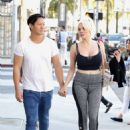 Courtney Stodden and Chris Sheng out in Beverly Hills - 454 x 609