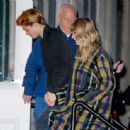 December 8, 2017 - Taylor Swift and Joe Alwyn arriving at her apartment in New York City - 454 x 443