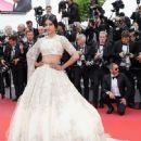 Sonam Kapoor :  'Blackkklansman' Red Carpet Arrivals - The 71st Annual Cannes Film Festival - 448 x 600