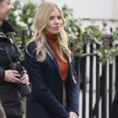 Sienna Miller – Filming Anatomy of a Scandal in London