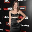 Alison Brie - AMC's Mad Men Season Two Wrap Party Sponsored By Heineken At Cicada Restaurant On August 23, 2008 In Los Angeles, California