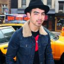 More pictures of Joe Jonas in NYC (March 15)