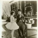 Merna Kennedy and Charlie Chaplin