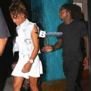Lil Wayne and Christina Milian in Beverly Hills