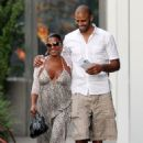 Nia Long and Ime Udoka - 454 x 661